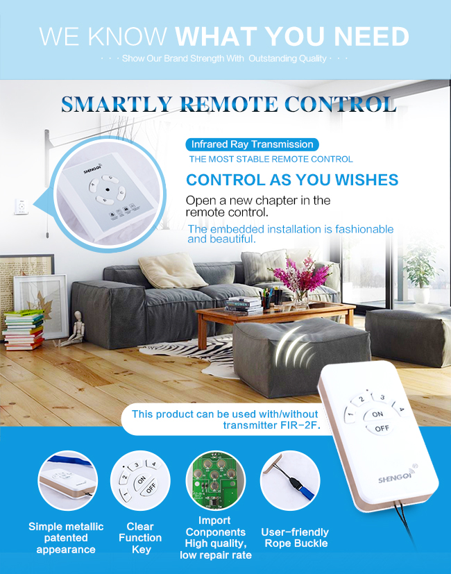 China supply IR remote control section switch can be operated by a transmitter.